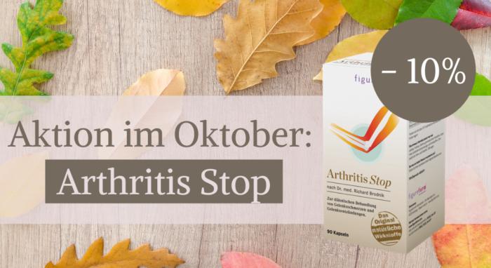 Figureform Aktion im Okotber_Arthritis Stop